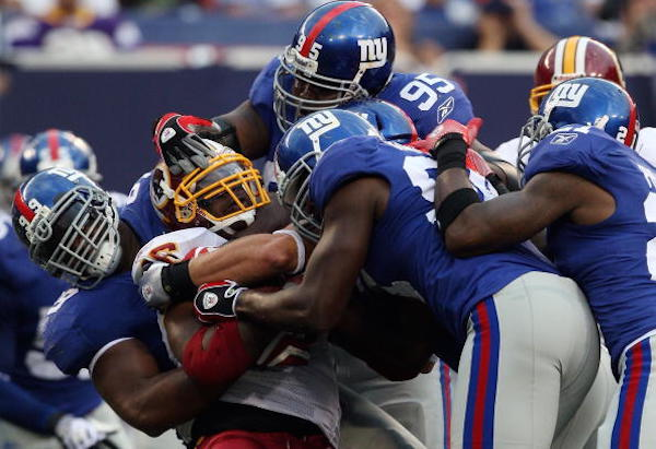 Giants Vs Redskins
