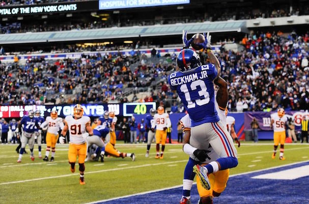 Giants vs. Redskins Highlights