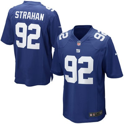 Michael Strahan Home Jersey Made by Nike