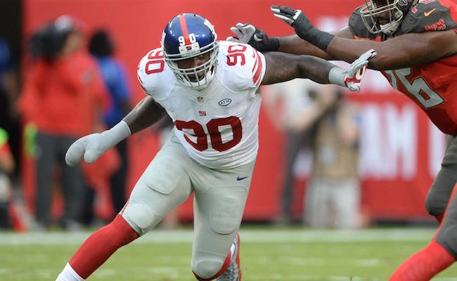 Giants win 32-18 in Jason Pierre-Paul's return