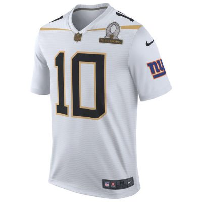 Eli Manning Pro Bowl Jersey Team Rice White | Front