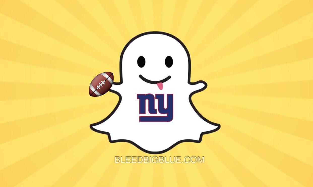 New York Giants on Snapchat