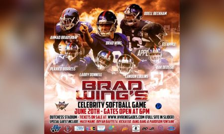 Brad Wing's Celebrity Softball Game.