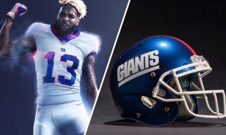 New York Giants unveiled their Color Rush uniforms