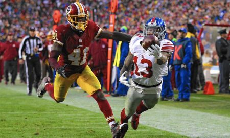 Quick Notes September 25, 2016 Giants vs Redskins