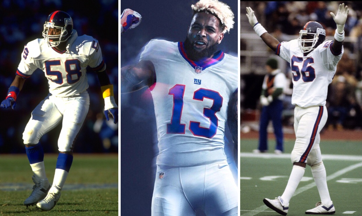 best service c86a5 a90d9 New York Giants unveiled their Color Rush uniforms ...