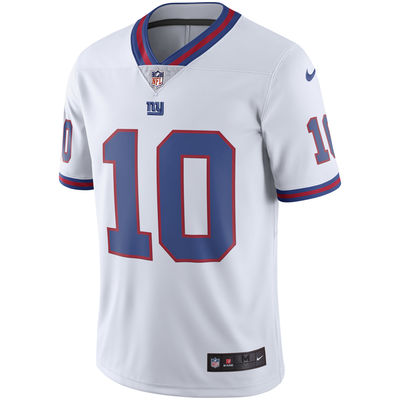 Eli Manning Jr New York Giants Color Rush Jersey (White - Limited) - Front 18e55d979