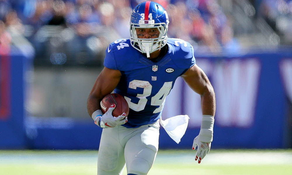 Giants Shane Vereen looking to return