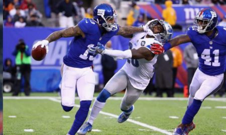 New York Giants Take Down The Detroit Lions 17-6