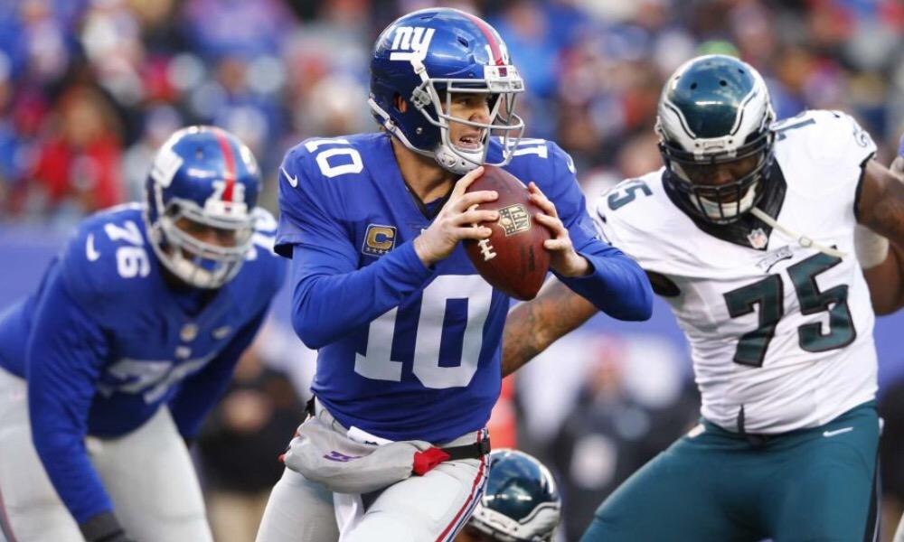 December 22, 2016 Giants vs Eagles