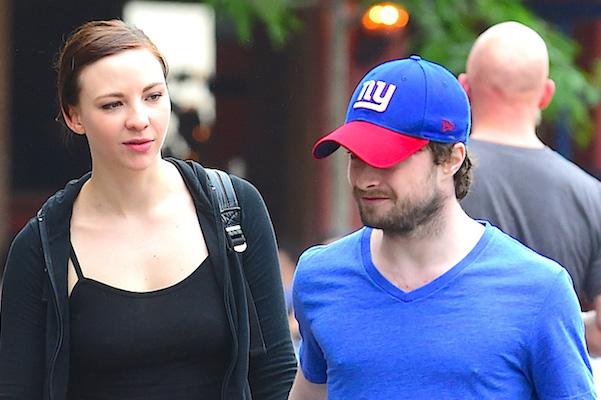 Daniel Radcliffe New York Giants Fan