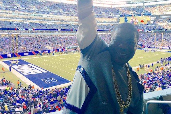 Tracy Morgan New York Giants Fan