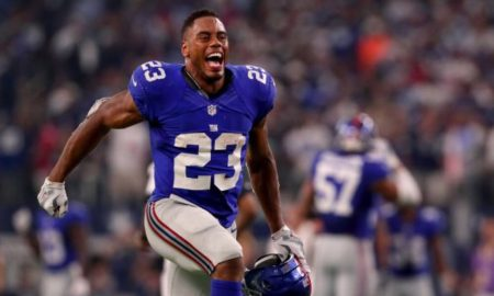 Giants Release Leading Rusher Rashad Jennings