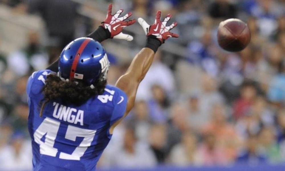 Giants Waive Linebacker Uani Unga