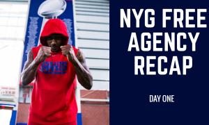 New York Giants Free Agency Recap Day 1