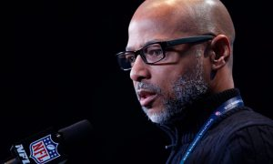 What does Jerry Reese Pro Day Attendance mean?