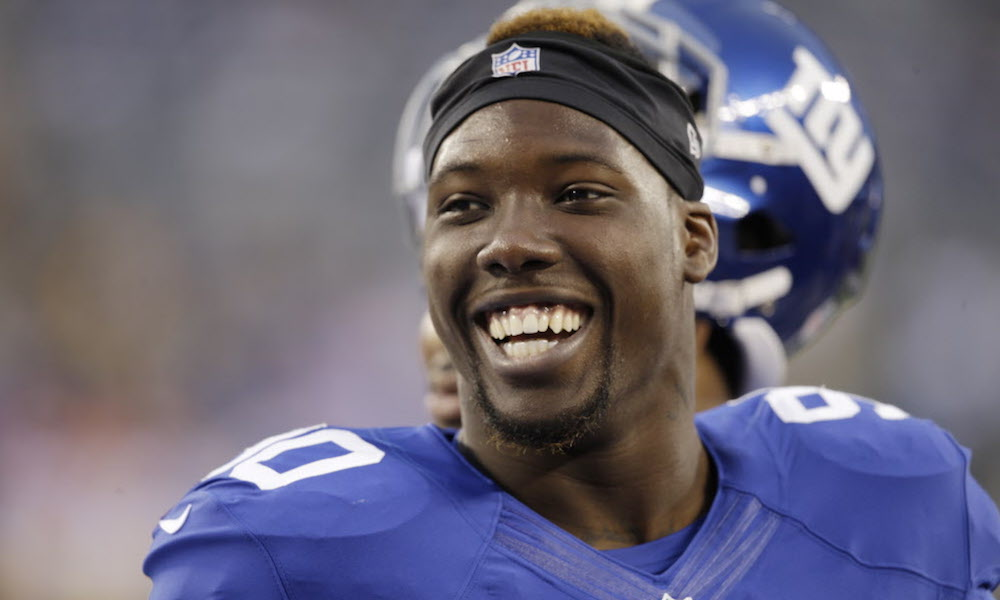 Jason Pierre-Paul Autograph signing