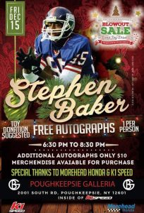 Stephen Baker Meet And Greet