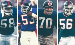 4 New York Giants Named To The NFL's Greatest Linebackers