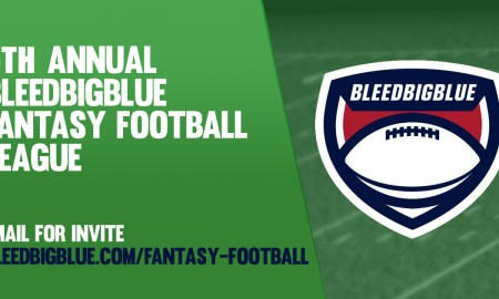 5th Annual Bleed Big Blue Fantasy Football League