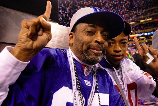 Spike Lee New York Giants Fan