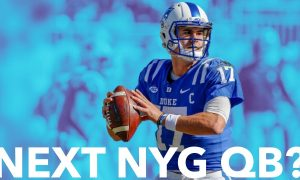 Is Daniel Jones A Target For The New York Giants