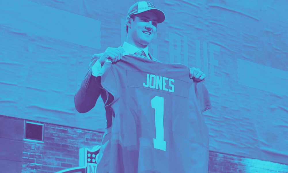New York Giants Draft Daniel Jones