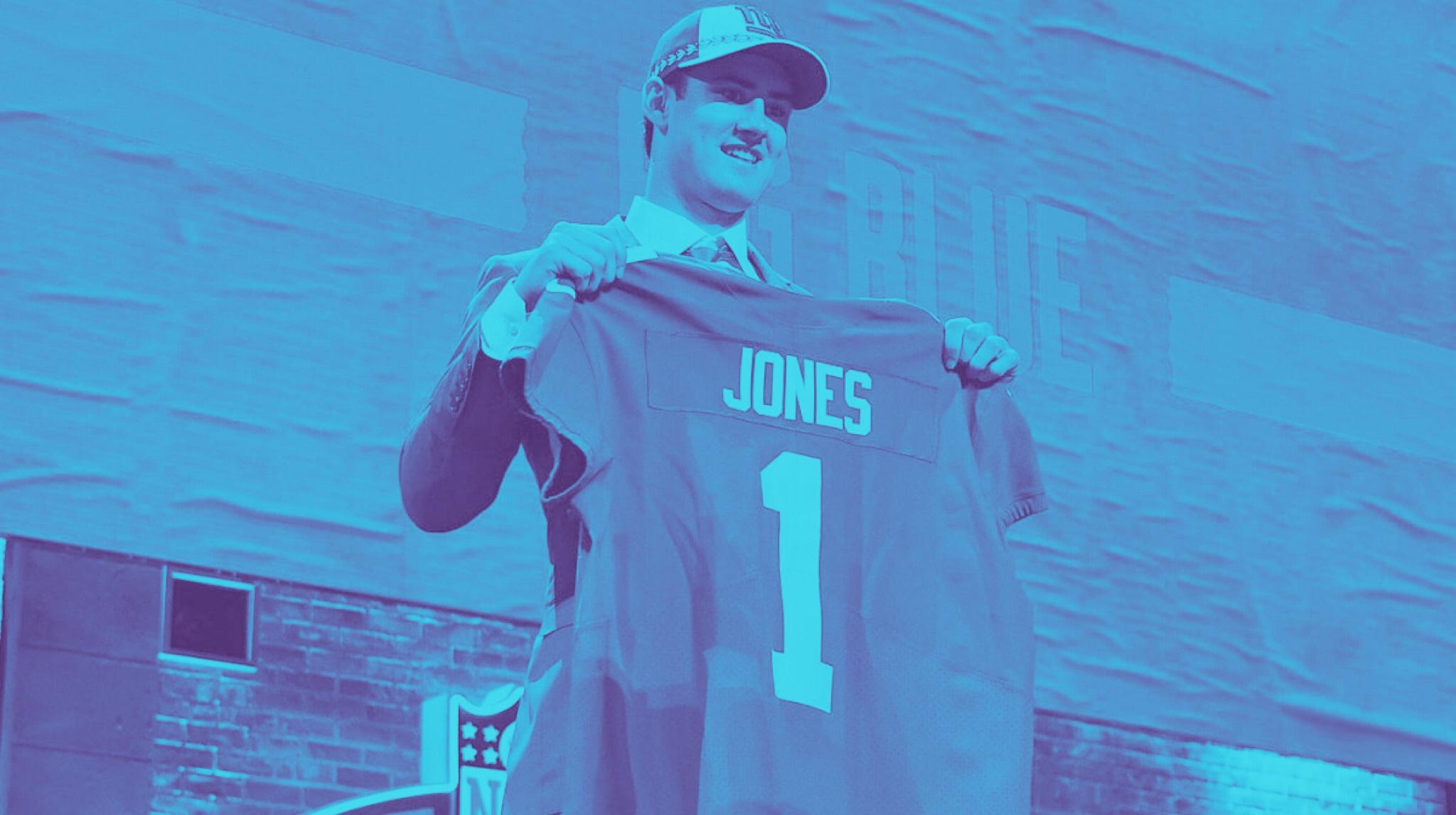 New York Giants Draft Daniel Jones