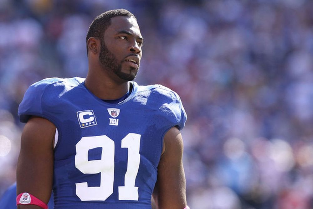 Justin Tuck Autograph Signing