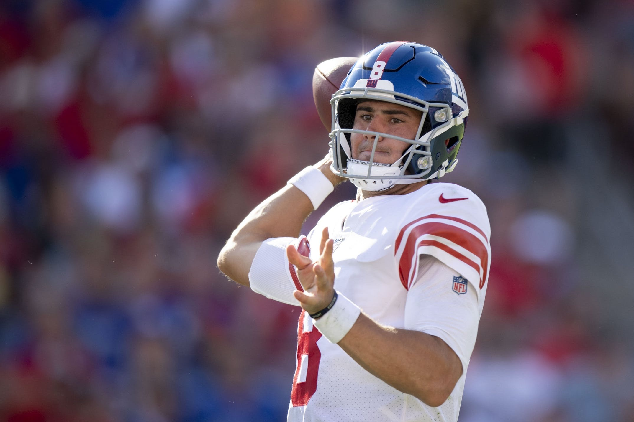 Giants Look To Pull To .500 Against Washington