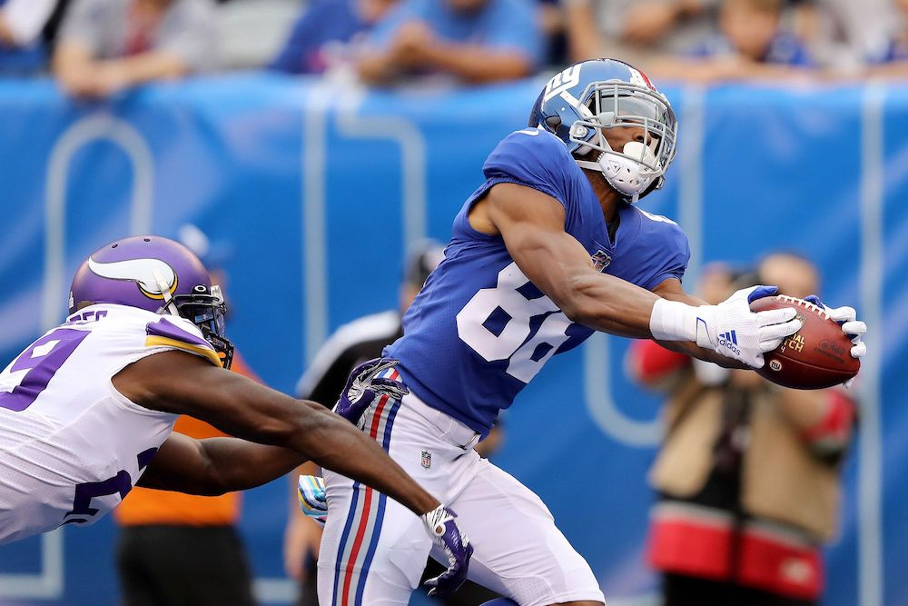 Is Darius Slayton the best Giants Receiver right now?